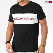 /achat-t-shirts/tommy-sport-tee-shirt-logo-driver-0486-noir-203604.html