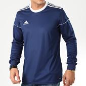 /achat-t-shirts-manches-longues/adidas-tee-shirt-manches-longues-a-bandes-squad-17-bj9192-bleu-marine-203748.html