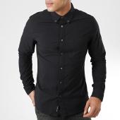 /achat-chemises-manches-longues/calvin-klein-chemise-manches-longues-oxford-solid-4224-noir-203723.html