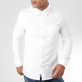 /achat-chemises-manches-longues/calvin-klein-chemise-manches-longues-oxford-solid-4224-blanc-203724.html