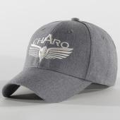 /achat-casquettes-de-baseball/charo-casquette-fleece-logo-gris-chine-203760.html
