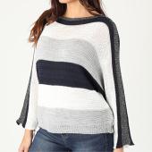 /achat-pulls/girls-only-pull-femme-a-bandes-pu48-bleu-marine-blanc-gris-argente-203721.html