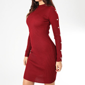 /achat-robes/girls-only-robe-pull-femme-d934-bordeaux-203737.html