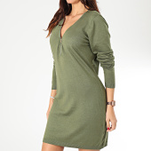 /achat-robes/girls-only-robe-pull-col-zippe-femme-a8503-vert-kaki-203739.html