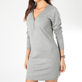 /achat-robes/girls-only-robe-pull-col-zippe-femme-a8503-gris-chine-203740.html