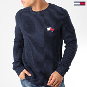/achat-pulls/tommy-jeans-pull-tommy-badge-7418-bleu-marine-203687.html