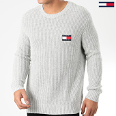 /achat-pulls/tommy-jeans-pull-tommy-badge-7418-gris-chine-203688.html