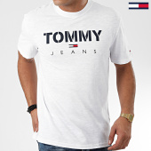/achat-t-shirts/tommy-hilfiger-jeans-tee-shirt-tommy-textured-7438-blanc-203691.html