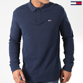 /achat-polos-manches-longues/tommy-jeans-polo-manches-longues-classics-7457-bleu-marine-203694.html