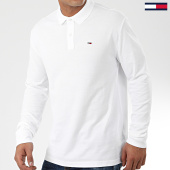 /achat-polos-manches-longues/tommy-jeans-polo-manches-longues-classics-7457-blanc-203695.html