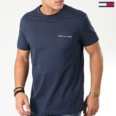 /achat-t-shirts/tommy-hilfiger-jeans-tee-shirt-poche-logo-pocket-7468-bleu-marine-203696.html