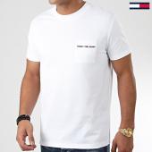 /achat-t-shirts-poche/tommy-hilfiger-jeans-tee-shirt-poche-logo-pocket-7468-blanc-203697.html