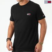 /achat-t-shirts/tommy-hilfiger-jeans-tee-shirt-chest-logo-7472-noir-203699.html