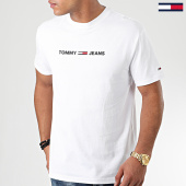 /achat-t-shirts/tommy-jeans-tee-shirt-straight-small-logo-7621-blanc-203705.html