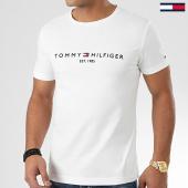 /achat-t-shirts/tommy-hilfiger-tee-shirt-core-tommy-logo-1465-blanc-casse-203712.html