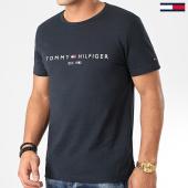 /achat-t-shirts/tommy-hilfiger-tee-shirt-core-tommy-logo-1465-bleu-marine-203715.html