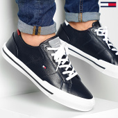 /achat-baskets-basses/tommy-hilfiger-baskets-core-corporate-flag-sneaker-2593-desert-sky-203734.html