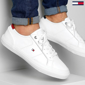 /achat-baskets-basses/tommy-hilfiger-baskets-core-corporate-flag-sneaker-2593-white-203736.html