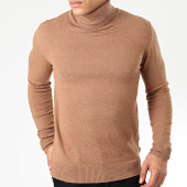 /achat-pulls/classic-series-pull-col-roule-robert-marron-clair-203860.html