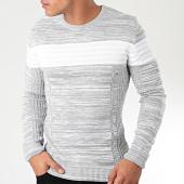 /achat-pulls/john-h-pull-h-013-gris-chine-blanc-203803.html