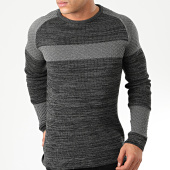 /achat-pulls/john-h-pull-h-016-gris-anthracite-chine-203810.html