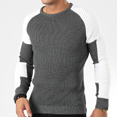 /achat-pulls/john-h-pull-h-007-gris-anthracite-blanc-203815.html