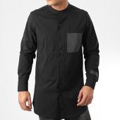 /achat-chemises-manches-longues/sixth-june-chemise-manches-longues-m3988csh-noir-reflechissant-203865.html