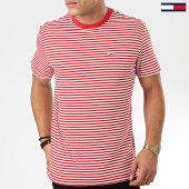/achat-t-shirts/tommy-jeans-tee-shirt-classics-stripe-5515-rouge-blanc-203834.html
