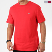 /achat-t-shirts/tommy-jeans-tee-shirt-tommy-classics-6061-rouge-203839.html