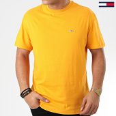 /achat-t-shirts/tommy-jeans-tee-shirt-tommy-classics-6061-jaune-moutarde-203842.html