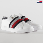 /achat-baskets-basses/tommy-hilfiger-baskets-femme-slip-on-elastic-4597-white-203852.html