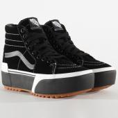 /achat-baskets-montantes/vans-baskets-femme-sk8-hi-stacked-btwlf9-suede-black-gum-203799.html