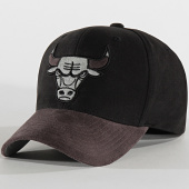 /achat-casquettes-de-baseball/mitchell-and-ness-casquette-international-469-chicago-bulls-noir-gris-reflective-203892.html