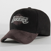 /achat-casquettes-de-baseball/mitchell-and-ness-casquette-international-469-los-angeles-lakers-noir-gris-reflective-203895.html