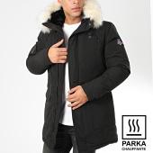 /achat-parkas/maison-courch-parka-chauffante-capuche-fourrure-ancolie-noir-beige-203965.html