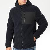 /achat-vestes/tokyo-laundry-veste-zippee-capuche-polaire-brewer-bleu-marine-noir-204033.html