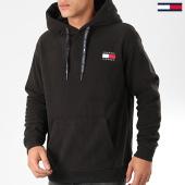 /achat-sweats-capuche/tommy-jeans-sweat-capuche-polar-fleece-badge-7532-noir-203964.html