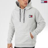 /achat-sweats-capuche/tommy-jeans-sweat-capuche-polar-fleece-badge-7532-gris-chine-203969.html