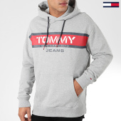 /achat-sweats-capuche/tommy-jeans-sweat-capuche-panel-logo-7615-gris-chine-203976.html