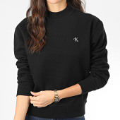 /achat-sweats-col-rond-crewneck/calvin-klein-sweat-crewneck-femme-ck-embroidery-2875-noir-204072.html