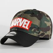 /achat-casquettes-de-baseball/marvel-casquette-logo-camouflage-vert-kaki-noir-204084.html