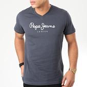 /achat-t-shirts/pepe-jeans-tee-shirt-col-v-eggo-v-bleu-marine-204105.html