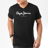 /achat-t-shirts/pepe-jeans-tee-shirt-col-v-eggo-v-pm501389-noir-204108.html