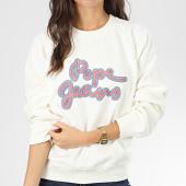 /achat-sweats-col-rond-crewneck/pepe-jeans-sweat-crewneck-femme-bonnie-blanc-casse-204119.html