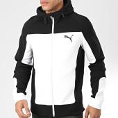 /achat-sweats-zippes-capuche/puma-sweat-zippe-capuche-evostripe-581486-noir-blanc-204082.html
