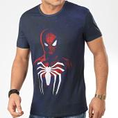 /achat-t-shirts/spiderman-tee-shirt-acid-wash-spiderman-bleu-marine-204094.html