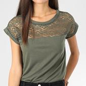 /achat-t-shirts/only-tee-shirt-femme-dentelle-kamira-vert-kaki-204183.html