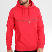 /achat-sweats-capuche/calvin-klein-sweat-capuche-taping-through-monogram-4264-rouge-204234.html