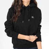/achat-sweats-capuche/calvin-klein-sweat-capuche-femme-ck-embroidery-3178-noir-204356.html