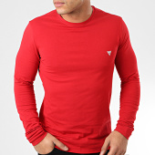 /achat-t-shirts-manches-longues/guess-tee-shirt-slim-manches-longues-m01i34-j1300-rouge-204262.html